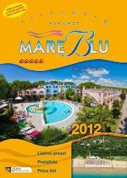 Listino prezzi - Preisliste - Price list - Villaggio Mare Blu