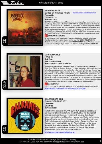 CD/LP CD CD - Tuba