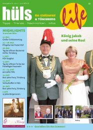 König Jakob und seine Rosi HIGHLIGHTS - Go-Krefeld