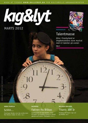 kig & lyt Marts 2012 - Ballerup Kommune