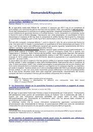 Tutti i quesiti - Farmaci Abruzzo