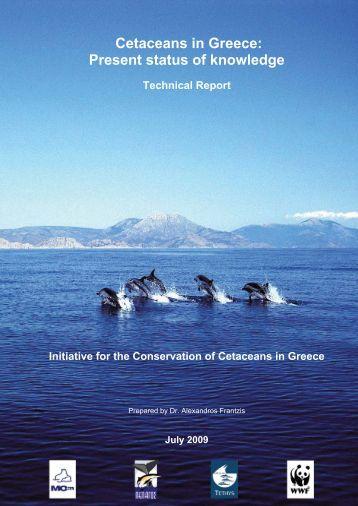 Cetaceans in Greece: Present status of knowledge