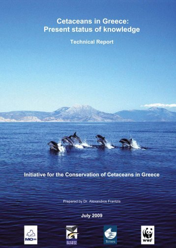 Cetaceans in Greece: Present status of knowledge