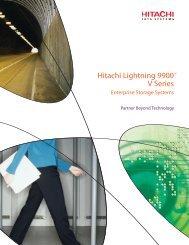 Hitachi Lightning 9900 V Series Enterprise Storage Systems