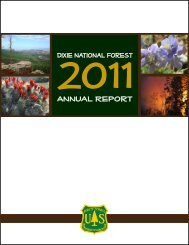 2011 Annual Report - USDA Forest Service