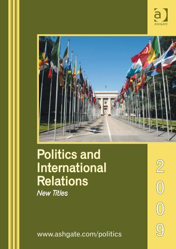 Politics and International Relations - Ashgate