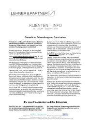 KLIENTEN – INFO - lehner.org: lehner.org