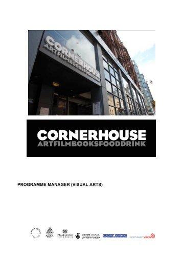 JOB PACK (Programme Manager Visual Arts) - Cornerhouse