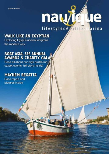 Walk like an egyptian boat asia, ssf annual - Mediactive Pte Ltd