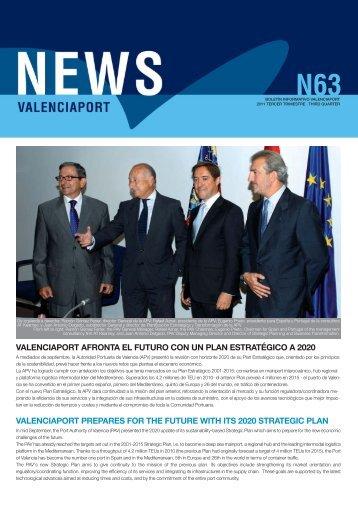 News Valenciaport 63 - Autoridad Portuaria de Valencia