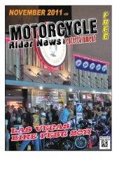 November 2011 - Motorcycle Rider News