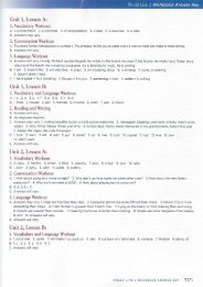 World Link Intro Video Workbook Answer Key - Heinle