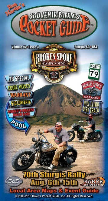 Ron Martin's Biker's Pocket Guide, Sturgis, SD Motorcycle Rally ...