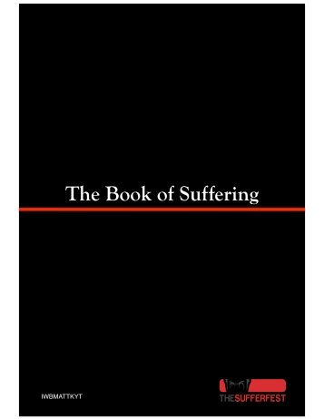 Download The Book of Suffering (PDF) - The Sufferfest