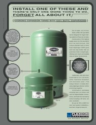 Flexcon HTX Expansion Tanks - Emerson Swan