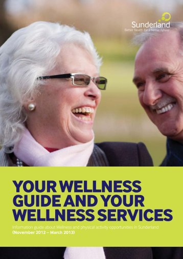 Your Wellness Guide and Services - Sunderland City Council