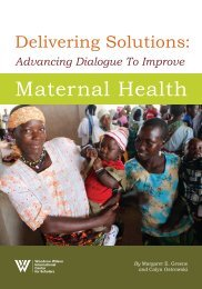 Delivering Solutions: Advancing Dialogue To Improve Maternal Health
