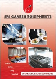 E-Brochure - Sri Ganesh Equipments
