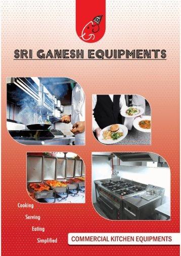 E-Brochure - Sri Ganesh Equipments
