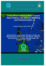 Torres Strait seabed and water-column data collation