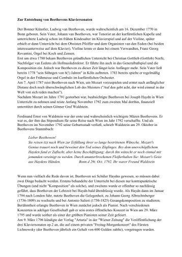 Beethovens Klaviersonaten pdf