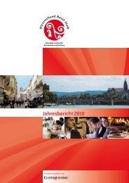 Jahresbericht 2010 - Wirteverband Basel-Stadt
