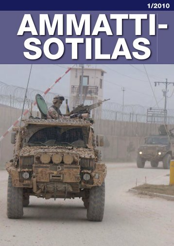 Ammattisotilas 1/2010 (pdf) - Aliupseeriliitto