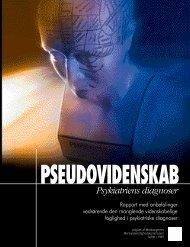Pseudovidenskab psykiatriens diagnoser - Medborgernes ...
