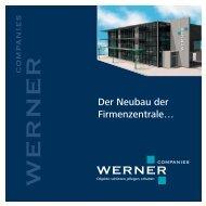Neubau - WERNER Companies