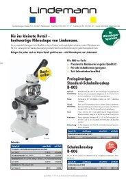 Schulmikroskop B-806 - Lehrmittel Lindemann
