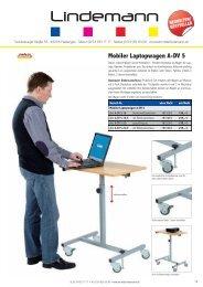 Mobiler Laptopwagen A-DV 5 - Lehrmittel Lindemann