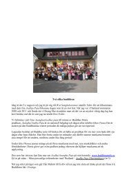 Två olika buddhism Idag är det 5:e augusti och jag ... - Buddhism-info