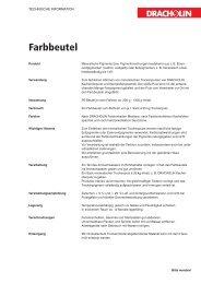 Download Produktinformationen als PDF - Dracholin GmbH
