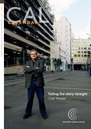 Calendar issue 2 2008 - Copyright Agency