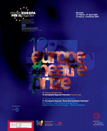 Grotowski Institute - Premio Europa per il Teatro