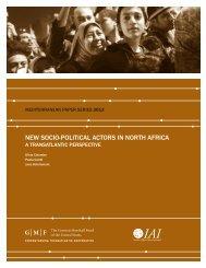 New Socio-Political Actors in North Africa - IAI - Istituto Affari ...
