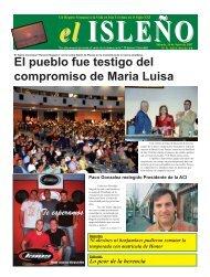 El pueblo fue testigo del compromiso de Maria Luisa - el isleño