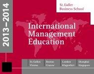 Topics Concept - St. Galler Business School