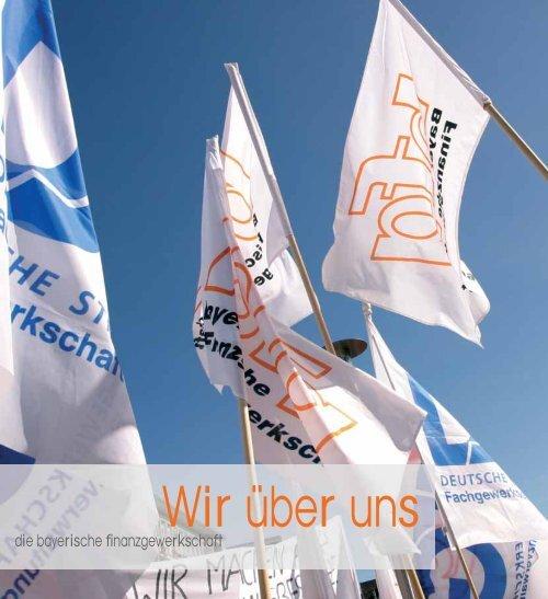 Wir über uns - bei der Bayerischen Finanzgewerkschaft