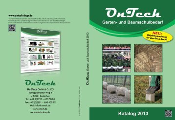 Produktkatalog 2013.pdf - on-tech.de