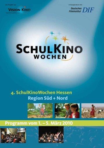 4. Schul KinoWochen Hessen Region Süd + Nord ... - Kinos Darmstadt