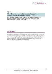 P244 The Dynamic Acoustic Inverse Problem in Laterally ...