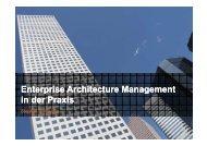 Enterprise Enterprise Architecture Architecture Management ...