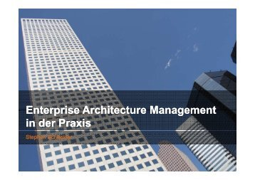 Enterprise Enterprise Architecture Architecture Management ...