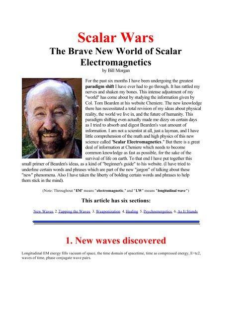 Scalar Wars - Institute of Technical Energy Medicine