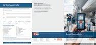 Bosch Messtechnik: Für Profis von Profis - Bosch Elektrowerkzeuge