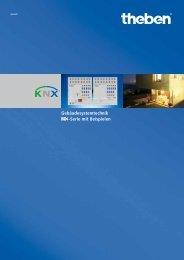 Gebäudesystemtechnik -Serie mit Beispielen - Theben