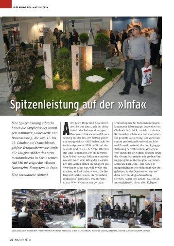 Infa - Bildhauer und Steinmetzinnung Hannover