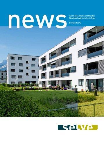 Newsletter 06 - August 2012 - Selve Thun
