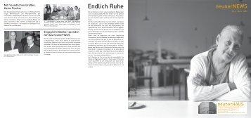 neunerNEWS Nr. 6, März/April 2005 - neunerHAUS